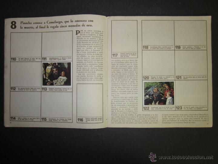 Coleccionismo Álbumes: LAS AVENTURAS DE PINOCHO - EDICIONES VULCANO - ALBUM INCOMPLETO - (ALB-174) - Foto 10 - 46607247
