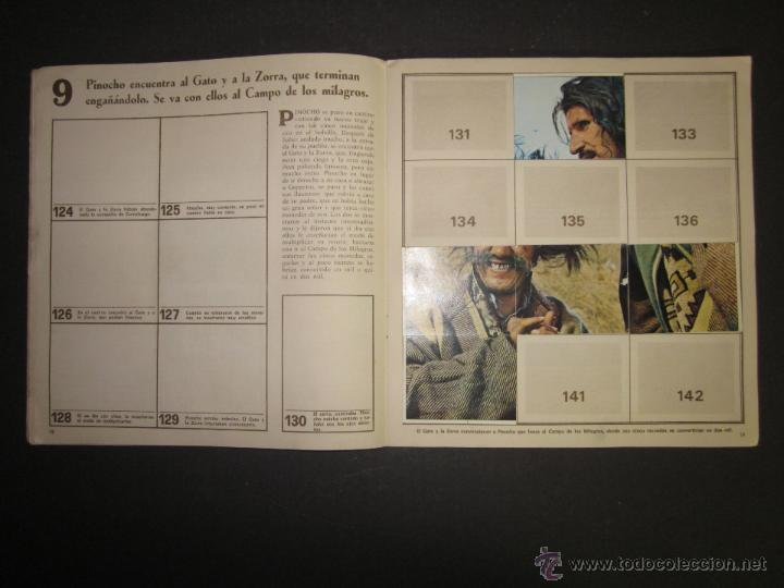 Coleccionismo Álbumes: LAS AVENTURAS DE PINOCHO - EDICIONES VULCANO - ALBUM INCOMPLETO - (ALB-174) - Foto 11 - 46607247