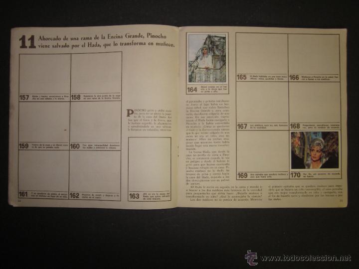 Coleccionismo Álbumes: LAS AVENTURAS DE PINOCHO - EDICIONES VULCANO - ALBUM INCOMPLETO - (ALB-174) - Foto 13 - 46607247