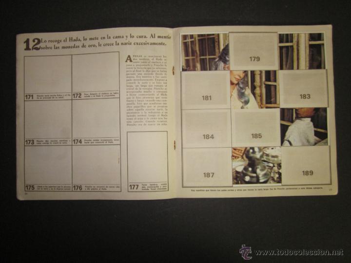 Coleccionismo Álbumes: LAS AVENTURAS DE PINOCHO - EDICIONES VULCANO - ALBUM INCOMPLETO - (ALB-174) - Foto 14 - 46607247
