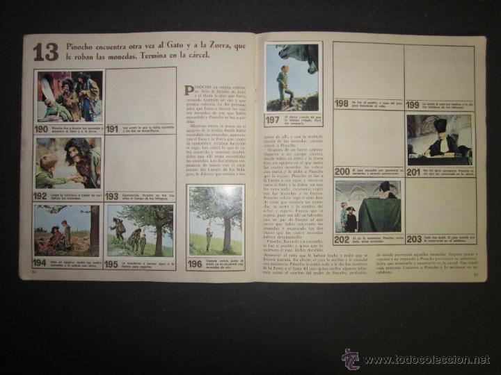 Coleccionismo Álbumes: LAS AVENTURAS DE PINOCHO - EDICIONES VULCANO - ALBUM INCOMPLETO - (ALB-174) - Foto 15 - 46607247