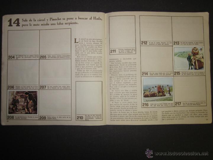 Coleccionismo Álbumes: LAS AVENTURAS DE PINOCHO - EDICIONES VULCANO - ALBUM INCOMPLETO - (ALB-174) - Foto 16 - 46607247
