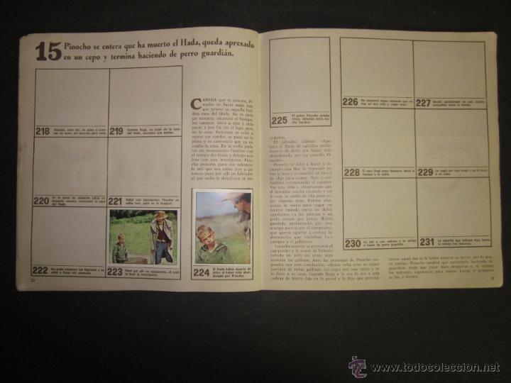 Coleccionismo Álbumes: LAS AVENTURAS DE PINOCHO - EDICIONES VULCANO - ALBUM INCOMPLETO - (ALB-174) - Foto 17 - 46607247