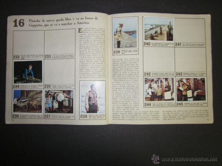 Coleccionismo Álbumes: LAS AVENTURAS DE PINOCHO - EDICIONES VULCANO - ALBUM INCOMPLETO - (ALB-174) - Foto 18 - 46607247