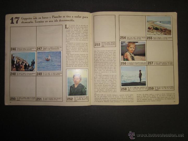 Coleccionismo Álbumes: LAS AVENTURAS DE PINOCHO - EDICIONES VULCANO - ALBUM INCOMPLETO - (ALB-174) - Foto 19 - 46607247