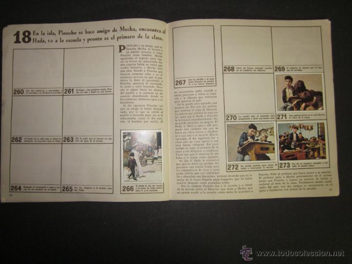 Coleccionismo Álbumes: LAS AVENTURAS DE PINOCHO - EDICIONES VULCANO - ALBUM INCOMPLETO - (ALB-174) - Foto 20 - 46607247