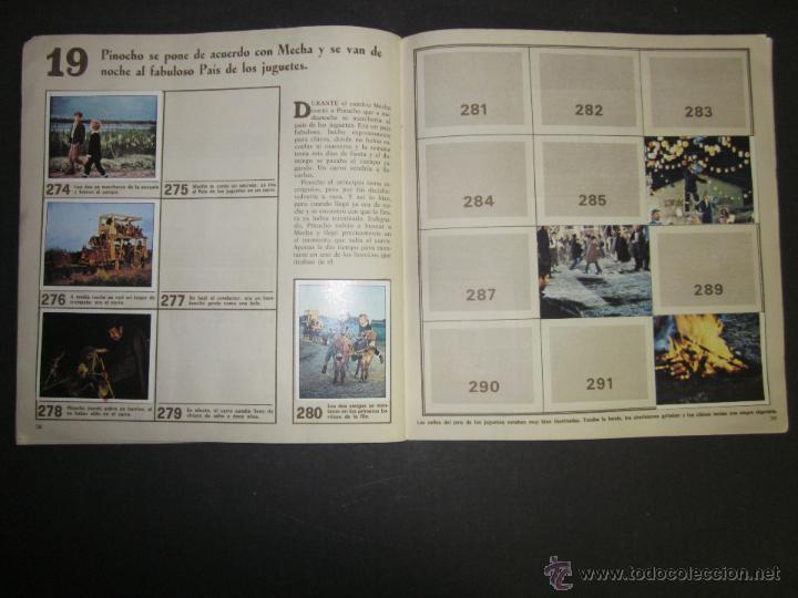 Coleccionismo Álbumes: LAS AVENTURAS DE PINOCHO - EDICIONES VULCANO - ALBUM INCOMPLETO - (ALB-174) - Foto 21 - 46607247