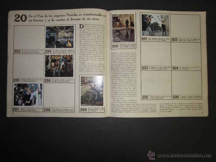 Coleccionismo Álbumes: LAS AVENTURAS DE PINOCHO - EDICIONES VULCANO - ALBUM INCOMPLETO - (ALB-174) - Foto 22 - 46607247