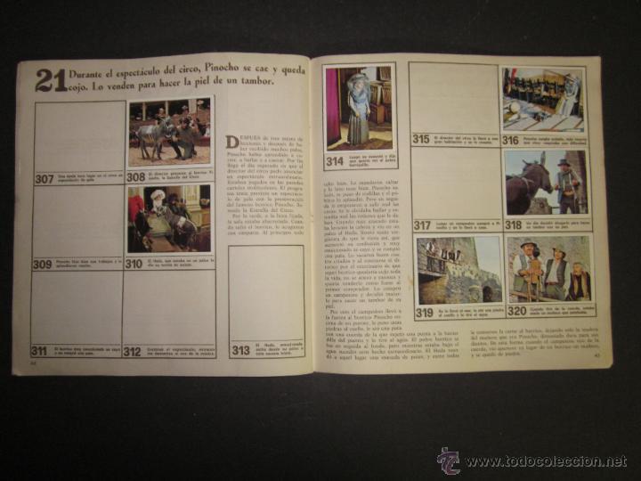 Coleccionismo Álbumes: LAS AVENTURAS DE PINOCHO - EDICIONES VULCANO - ALBUM INCOMPLETO - (ALB-174) - Foto 23 - 46607247