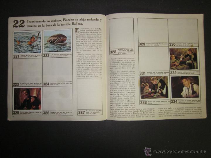 Coleccionismo Álbumes: LAS AVENTURAS DE PINOCHO - EDICIONES VULCANO - ALBUM INCOMPLETO - (ALB-174) - Foto 24 - 46607247