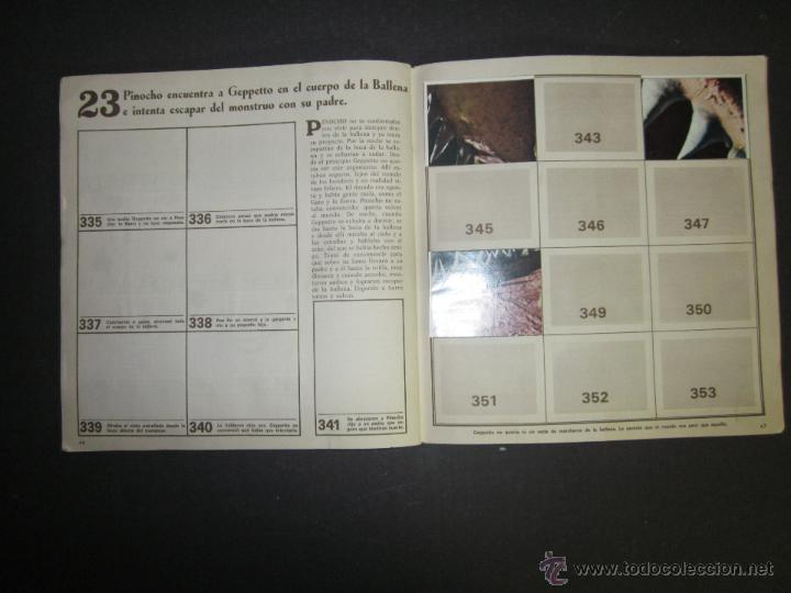 Coleccionismo Álbumes: LAS AVENTURAS DE PINOCHO - EDICIONES VULCANO - ALBUM INCOMPLETO - (ALB-174) - Foto 25 - 46607247