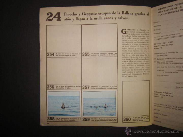 Coleccionismo Álbumes: LAS AVENTURAS DE PINOCHO - EDICIONES VULCANO - ALBUM INCOMPLETO - (ALB-174) - Foto 26 - 46607247