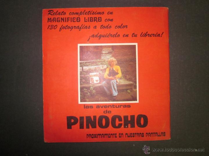 Coleccionismo Álbumes: LAS AVENTURAS DE PINOCHO - EDICIONES VULCANO - ALBUM INCOMPLETO - (ALB-174) - Foto 27 - 46607247