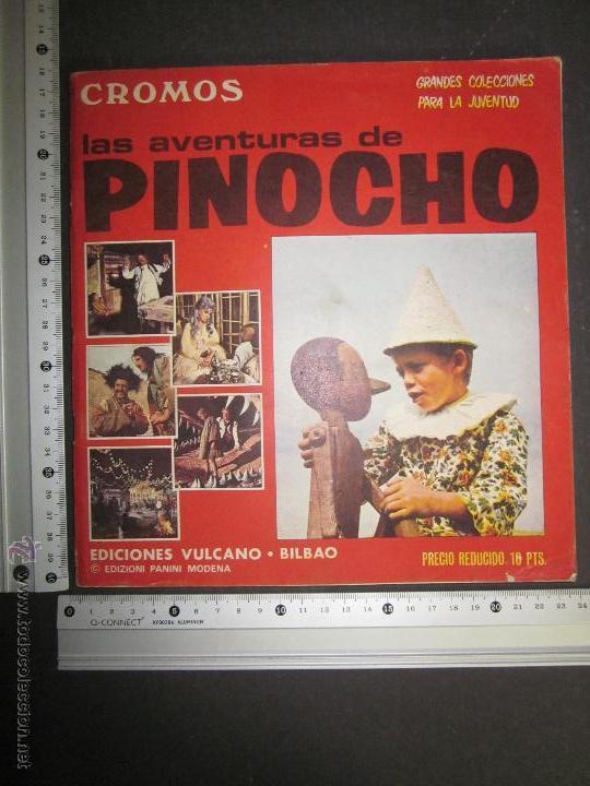 Coleccionismo Álbumes: LAS AVENTURAS DE PINOCHO - EDICIONES VULCANO - ALBUM INCOMPLETO - (ALB-174) - Foto 28 - 46607247