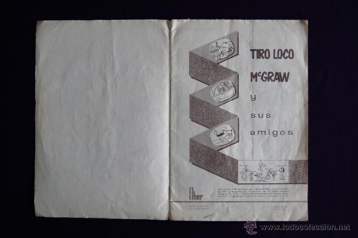 Coleccionismo Álbumes: ALBUM TIRO LOCO MCGRAW Y SUS AMIGOS. EDIT FHER. 1963. CONTIENE 52 DE 206 CROMOS. MUY BUEN ESTADO - Foto 2 - 46616600