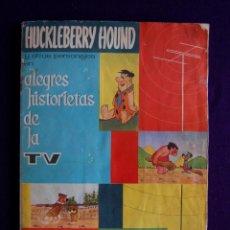 Coleccionismo Álbumes: ALBUM HUCKLEBERRY HOUND Y OTROS PERSONAJES... SOLO LE FALTAN 2 CROMOS. EDIT FHER. AÑO 1962.. Lote 46617647