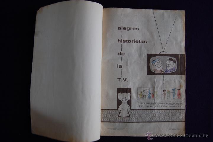 Coleccionismo Álbumes: ALBUM HUCKLEBERRY HOUND Y OTROS PERSONAJES... SOLO LE FALTAN 2 CROMOS. EDIT FHER. AÑO 1962. - Foto 2 - 46617647