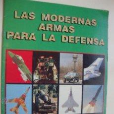 Coleccionismo Álbumes: ALBUM DE CROMOS VACIO, LAS MODERNAS ARMAS. Lote 53123962