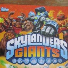 Coleccionismo Álbumes: SKYLANDERS GIANTS 77 CROMOS. Lote 46961108