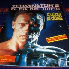 Coleccionismo Álbumes: TERMINATOR 2 EL DÍA DEL JUICIO, VACÍO. CUSCÓ 1992. DIFÍCIL!!!!!. Lote 48776546