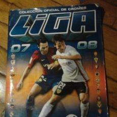 Coleccionismo Álbumes: LIGA 2007-2008 LIGA BBVA COLECCION ESTE CAMPEONATO NACIONAL DE LIGA. Lote 47109820