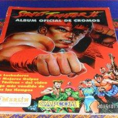 Coleccionismo Álbumes: STREET FIGHTER II INCOMPLETO FALTAN 61 DE 240 CROMOS. MERLIN COLLECTIONS. BUEN ESTADO.. Lote 47342182