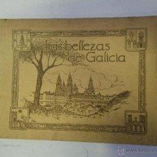 Coleccionismo Álbumes: ANTIGUO ALBUM , LAS BELLEZAS DE GALICIA , CON 202 CROMOS , JUAN GIL VAÑELLAS MUY ANTIGUO ,,VER . Lote 47438904