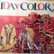 Coleccionismo Álbumes: ALBUM VIDA Y COLOR 2 . INCOMPLETO AÑO 1968 . FALTAN SOLO 80 CROMOS DE 506. Lote 47478883