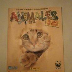 Coleccionismo Álbumes: ALBUM VACO DE EL GRAN ALBUM DEL MUNDO ANIMAL - 2012 . Lote 47515298