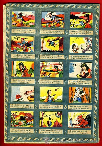 Coleccionismo Álbumes: ALBUM CROMOS BLANCANIEVES Y LOS SIETE ENANITOS , CON 255 CROMOS ,SOBRE AS SERIE E ,ORIGINAL, K - Foto 4 - 47556363