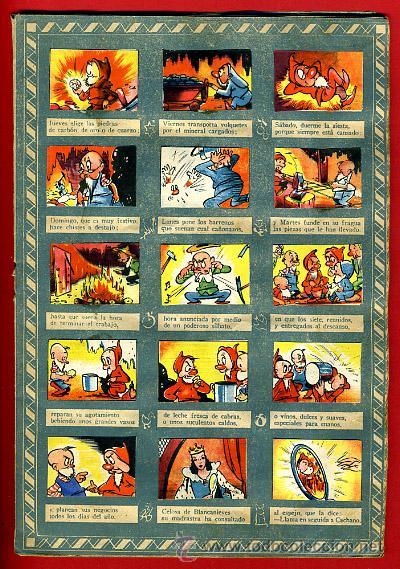 Coleccionismo Álbumes: ALBUM CROMOS BLANCANIEVES Y LOS SIETE ENANITOS , CON 255 CROMOS ,SOBRE AS SERIE E ,ORIGINAL, K - Foto 5 - 47556363