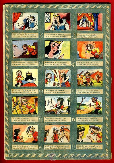 Coleccionismo Álbumes: ALBUM CROMOS BLANCANIEVES Y LOS SIETE ENANITOS , CON 255 CROMOS ,SOBRE AS SERIE E ,ORIGINAL, K - Foto 6 - 47556363