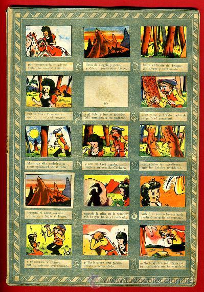 Coleccionismo Álbumes: ALBUM CROMOS BLANCANIEVES Y LOS SIETE ENANITOS , CON 255 CROMOS ,SOBRE AS SERIE E ,ORIGINAL, K - Foto 7 - 47556363