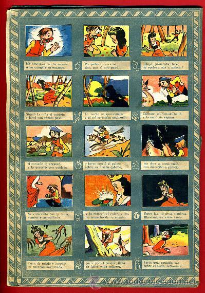 Coleccionismo Álbumes: ALBUM CROMOS BLANCANIEVES Y LOS SIETE ENANITOS , CON 255 CROMOS ,SOBRE AS SERIE E ,ORIGINAL, K - Foto 8 - 47556363