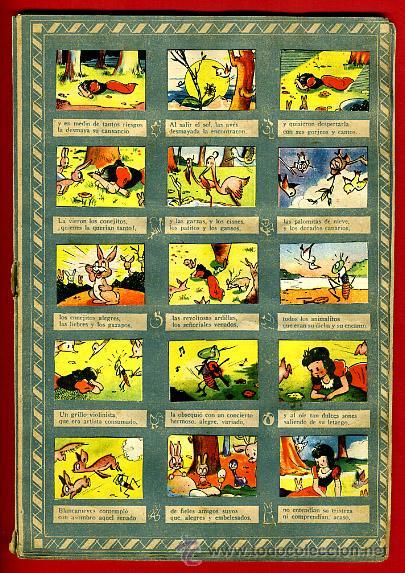 Coleccionismo Álbumes: ALBUM CROMOS BLANCANIEVES Y LOS SIETE ENANITOS , CON 255 CROMOS ,SOBRE AS SERIE E ,ORIGINAL, K - Foto 9 - 47556363