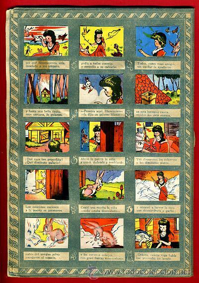 Coleccionismo Álbumes: ALBUM CROMOS BLANCANIEVES Y LOS SIETE ENANITOS , CON 255 CROMOS ,SOBRE AS SERIE E ,ORIGINAL, K - Foto 10 - 47556363