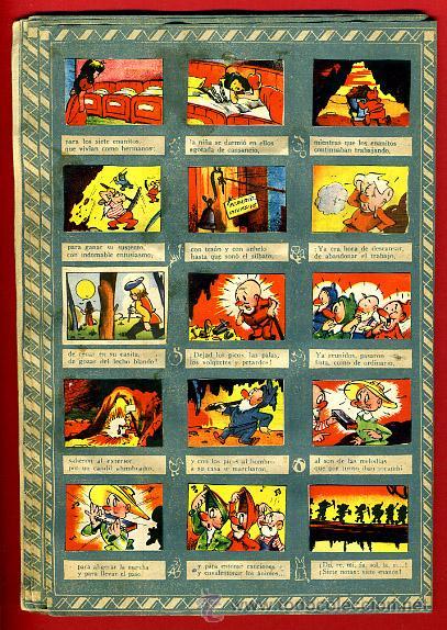 Coleccionismo Álbumes: ALBUM CROMOS BLANCANIEVES Y LOS SIETE ENANITOS , CON 255 CROMOS ,SOBRE AS SERIE E ,ORIGINAL, K - Foto 12 - 47556363