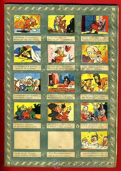 Coleccionismo Álbumes: ALBUM CROMOS BLANCANIEVES Y LOS SIETE ENANITOS , CON 255 CROMOS ,SOBRE AS SERIE E ,ORIGINAL, K - Foto 15 - 47556363
