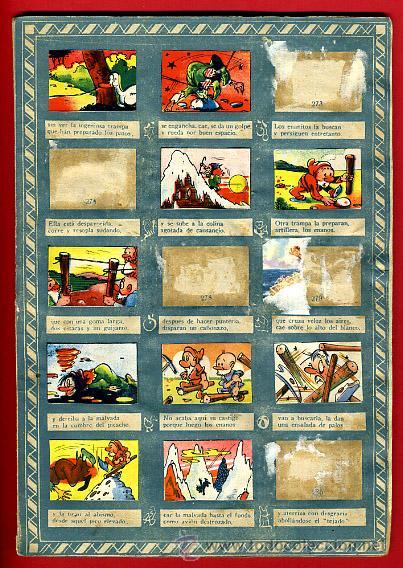 Coleccionismo Álbumes: ALBUM CROMOS BLANCANIEVES Y LOS SIETE ENANITOS , CON 255 CROMOS ,SOBRE AS SERIE E ,ORIGINAL, K - Foto 21 - 47556363