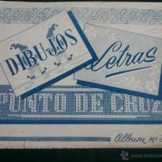Coleccionismo Álbumes: ALBUM PARA BORDAR DIBUJOS Y LETRAS.EDICCIONES T.M.C.. Lote 47668283