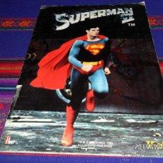Coleccionismo Álbumes: SUPERMAN II INCOMPLETO FALTAN 24 DE 96 CROMOS. FHER 1980. MBE. REGALO SUPERMAN I VACÍO.. Lote 47674849