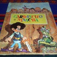 Coleccionismo Álbumes: GARBANCITO DE LA MANCHA INCOMPLETO 45 CROMOS DE 240 ED. RUIZ ROMERO CHOCOLATES LOS MUÑECOS 1964 RARO. Lote 47732693