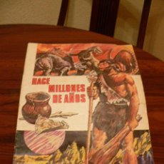 Coleccionismo Álbumes: ALBUM DE CROMOS HACE MILLONES DE AÑOS. Lote 47761007
