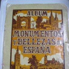 Coleccionismo Álbumes: ALBUM MONUMENTOS Y BELLEZAS DE ESPAÑA ED CASULLERAS. Lote 47943872