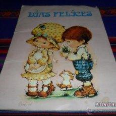 Coleccionismo Álbumes: DÍAS FELICES INCOMPLETO FALTAN 56 DE 120 CROMOS. FHER 1981.. Lote 48258657