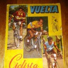 Coleccionismo Álbumes: ALBUM VUELTA CICLISTA A ESPAÑA 1959. EDITORIAL FHER. Lote 48275238