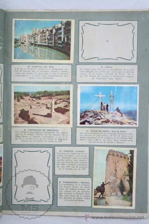 Coleccionismo Álbumes: Álbum de Cromos Incompleto - Bellezas de España. Col. Cultura - Ed. Bruguera - Faltan 83 Cromos - Foto 2 - 48275900