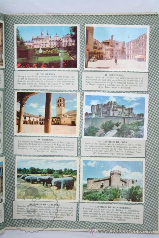 Coleccionismo Álbumes: Álbum de Cromos Incompleto - Bellezas de España. Col. Cultura - Ed. Bruguera - Faltan 83 Cromos - Foto 4 - 48275900