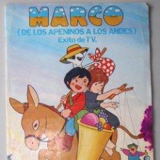 Coleccionismo Álbumes: ÁLBUM CROMOS INCOMPLETO - MARCO - EDITORIAL FHER. Lote 48284710