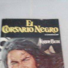 Coleccionismo Álbumes: ALBUM DE CROMOS PLANCHA EL CORSARIO NEGRO DE PANRICO. Lote 48421593